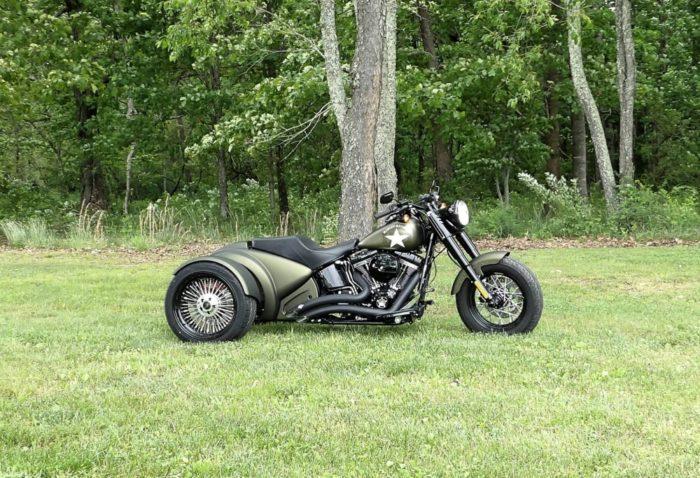 Trois-roues Harley-Davidson Custom