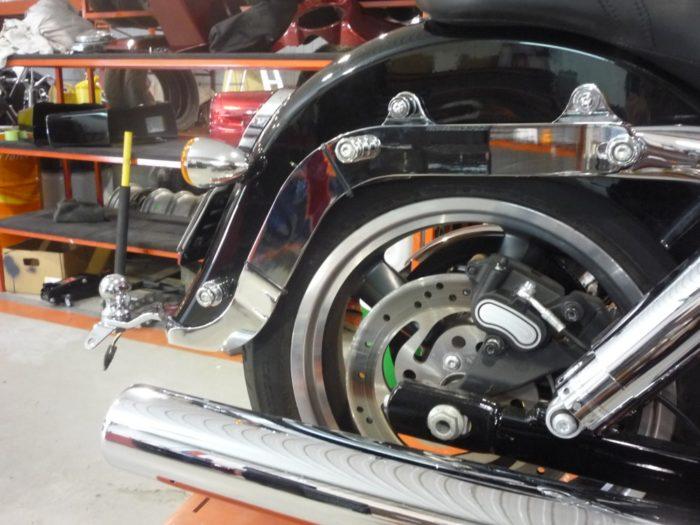 Attache remorque Harley-Davidson FLD Switchback