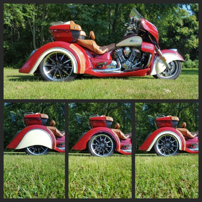 Trois-roues Indian Arrow | 2014 - présent INDIAN CHIEF MODELES; DARK HORSE, CLASSIC, VINTAGE, CHIEFTAIN, ROADMASTER