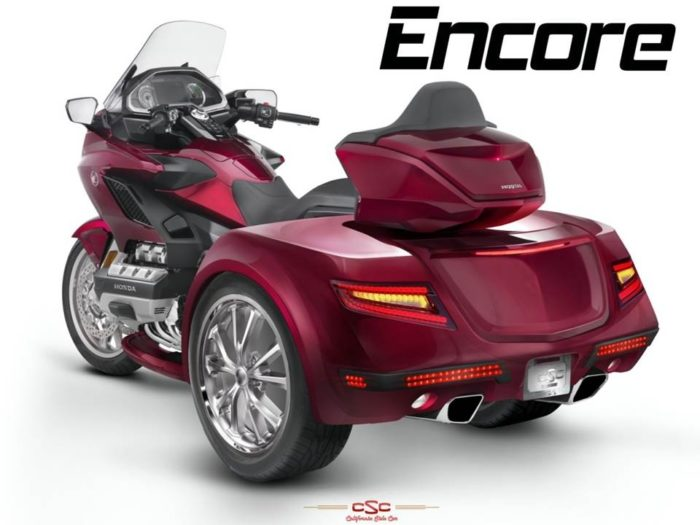 Honda ENCORE trike | Honda Goldwing 1800 cc 2018 and up